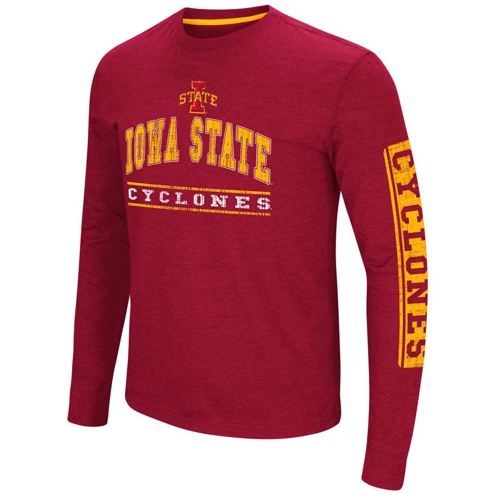 Iowa State Cyclones Colosseum Sky Box L/S T-Shirt - Arch Print