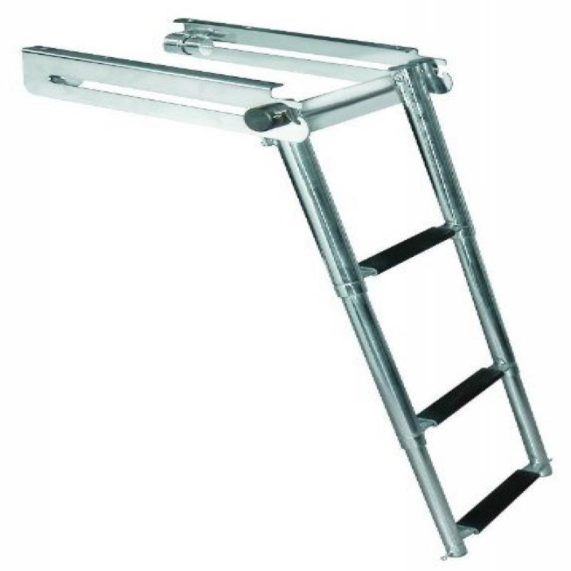 JIF Marine Products Telescoping Drop Ladder, 3 FGB3