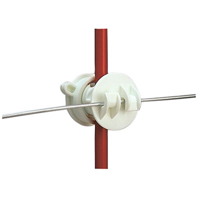 G65514 Screw On Rod Insulator, White, Pack - 25 - image 1 of 1