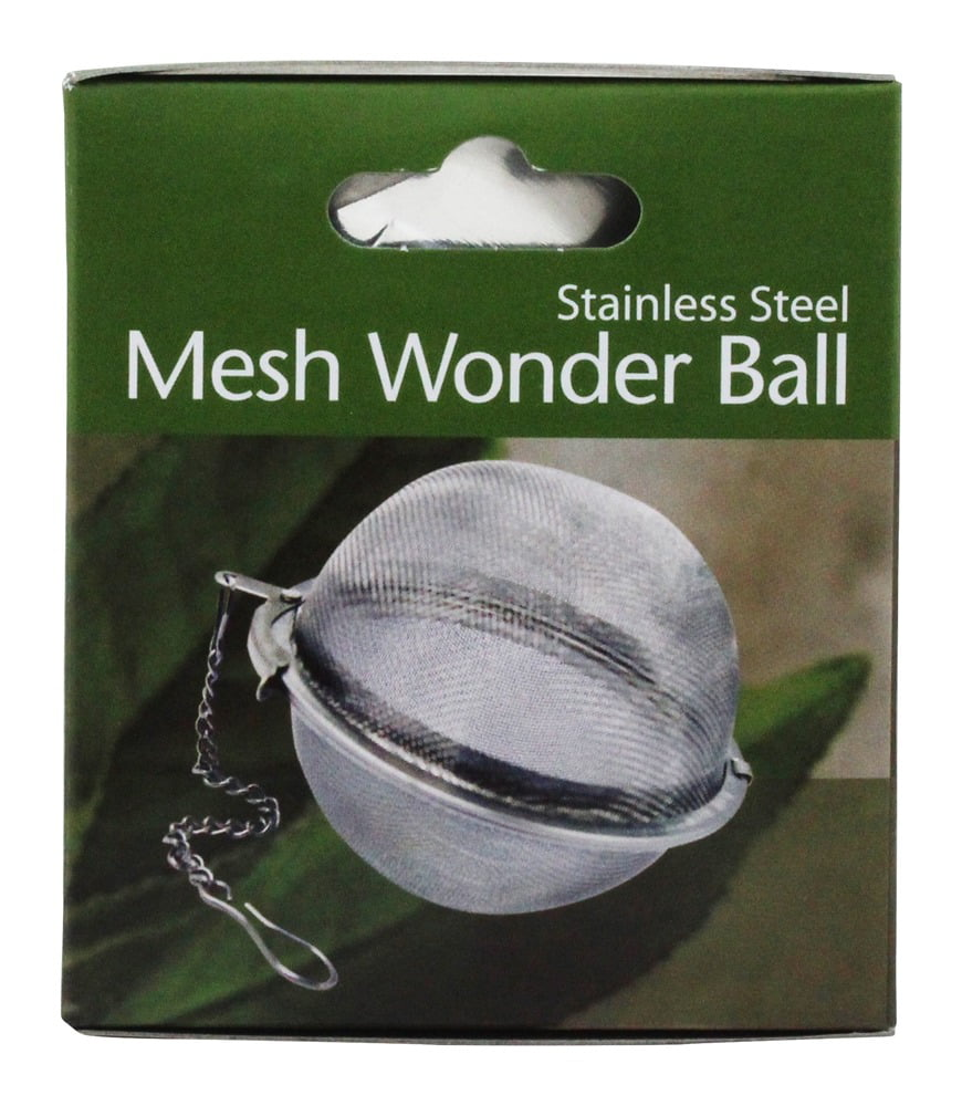 Harold Import Stainless Steel Mesh Wonder Tea Ball 3 inch by HAROLD IMPORTS