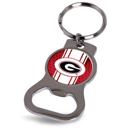 Georgia Bulldogs Official NCAA 3 inch  Bottle Opener Key Chain Keychain by Rico Industries