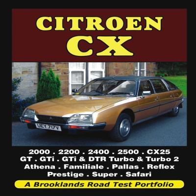 Citroen CX: Road Test Portfolio