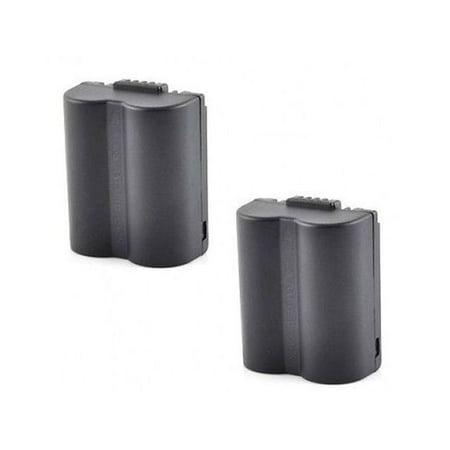 2 Batteries for Panasonic CGR-S006, Panasonic CGR-S006A, Panasonic CGR-S006E CGR-S006E/1B DMW-BMA7