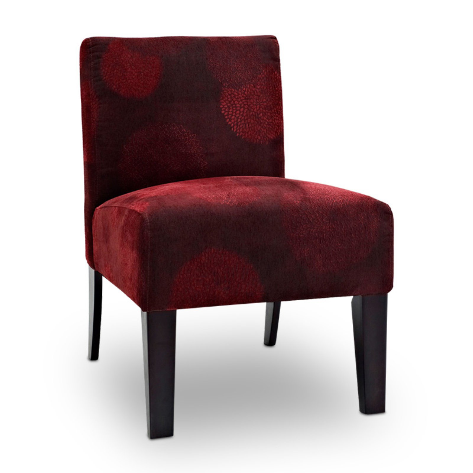DHI Sunflower Deco Upholstered Accent Chair, Multiple Colors