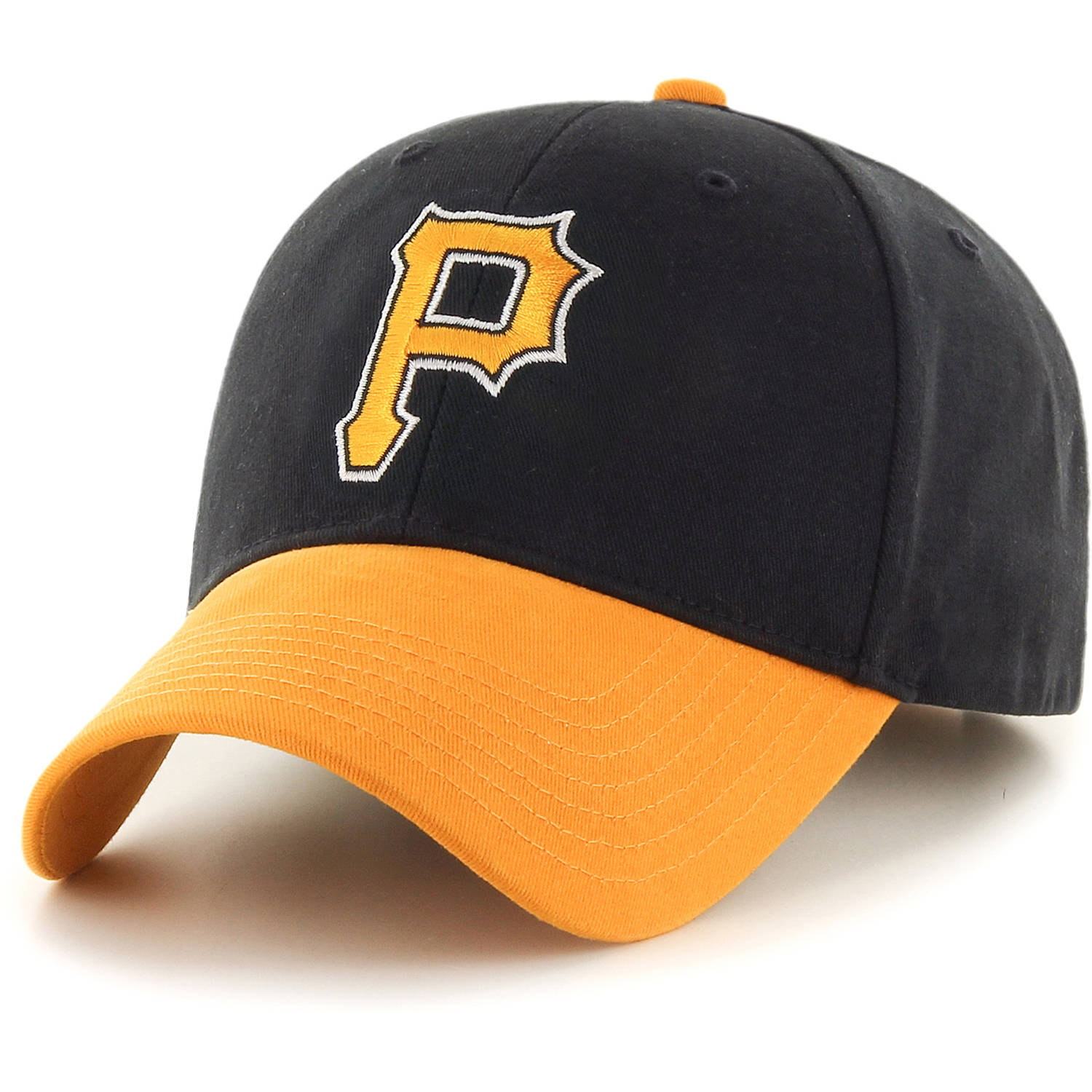 MLB Pittsburgh Pirates Reverse Basic Adjustable Cap/Hat by Fan Favorite