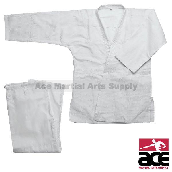 Single Weave Judo Gi - White