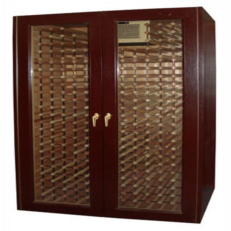 Monaco Modern 440-Model Wine Cabinet with 2 Glass Doors by Vinotemp