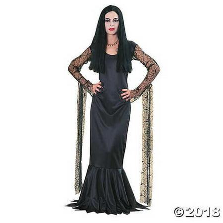 Morticia Addams Family Costume (Small) - Morticia Addams Cosplay