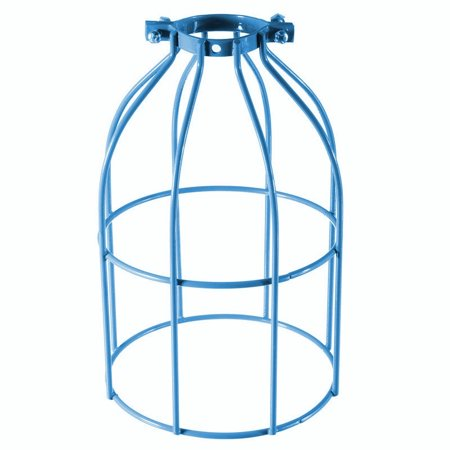 Industrial Steel Bulb Guard pendantlightshade Wire Lampshade, Clamp On Metal Lamp Cage, For E27 E26 Vintage Pendant String Light