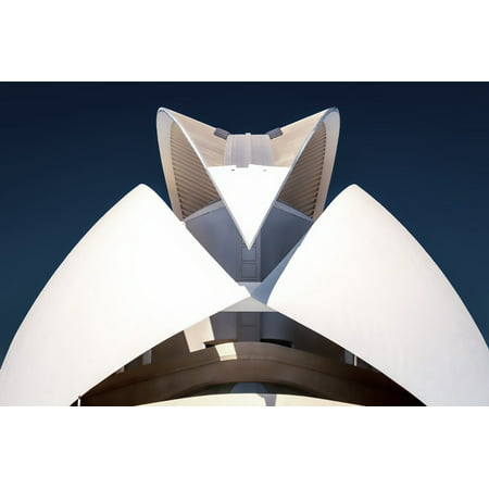 Canvas Print City Valencia Landmark Art Architecture Stretched Canvas 10 x 14