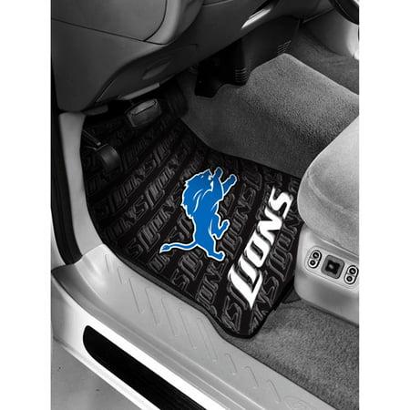 NFL Detroit Lions Floor Mats Set of 2 by