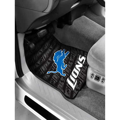 NFL - Detroit Lions Floor Mats - Set of 2