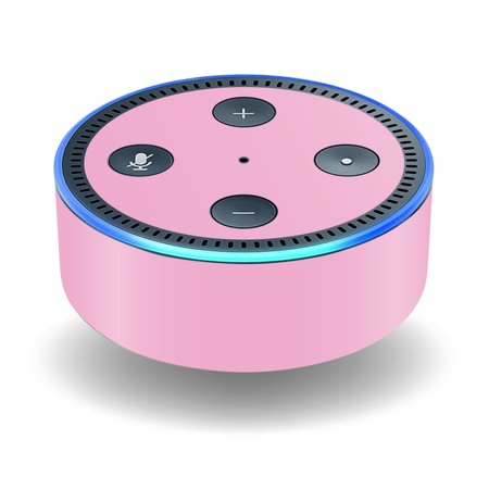 Skin Decal Wrap For Amazon Echo Dot  2Nd Generation  Stickers Solid Pink