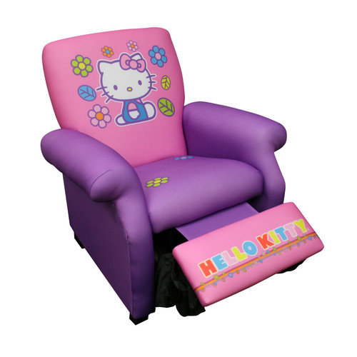 Harmony Kids Hello Kitty Deluxe Recliner