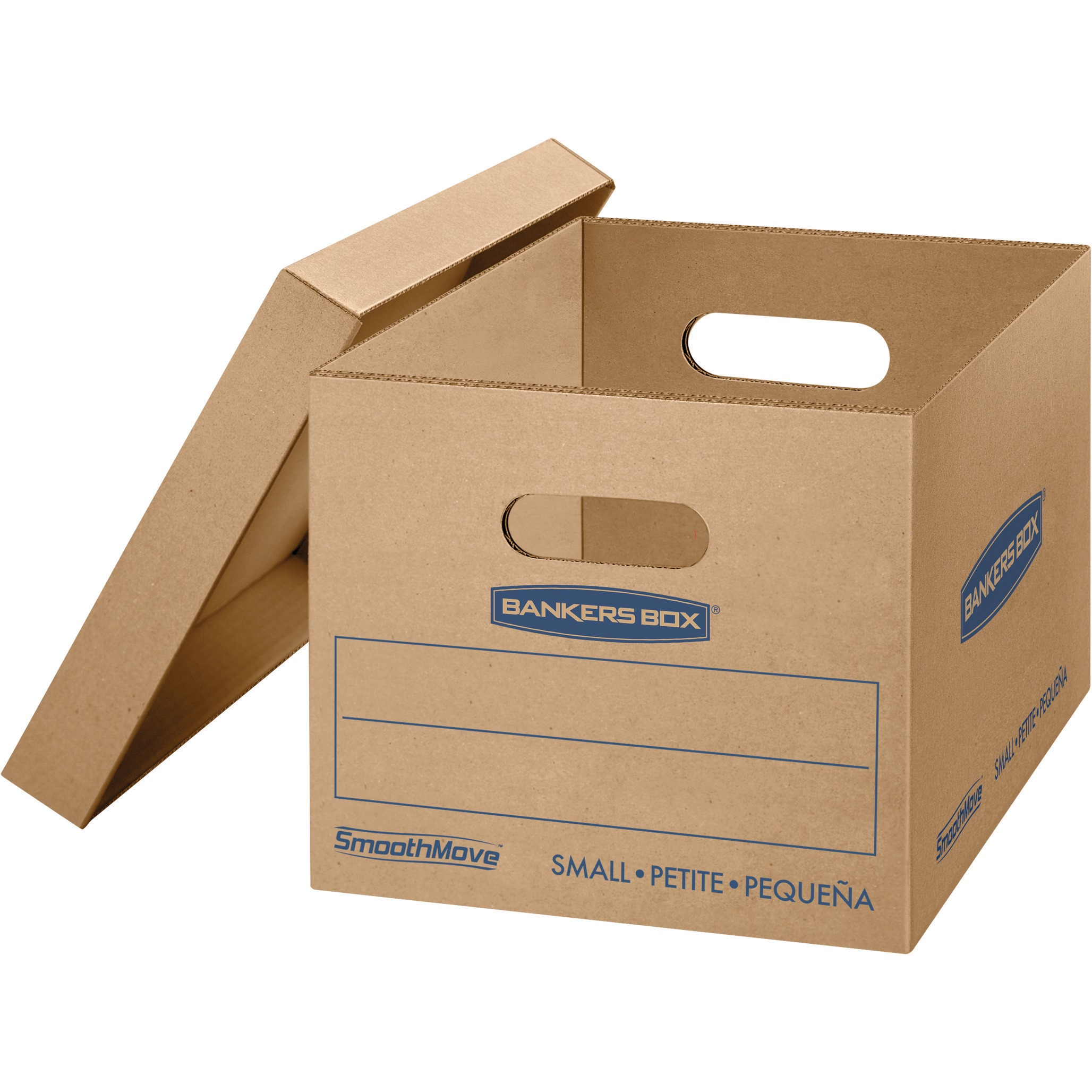 Bankers Box SmoothMove Classic Moving Boxes, Small 20pk, Kraft, 20 / Carton (Quantity)