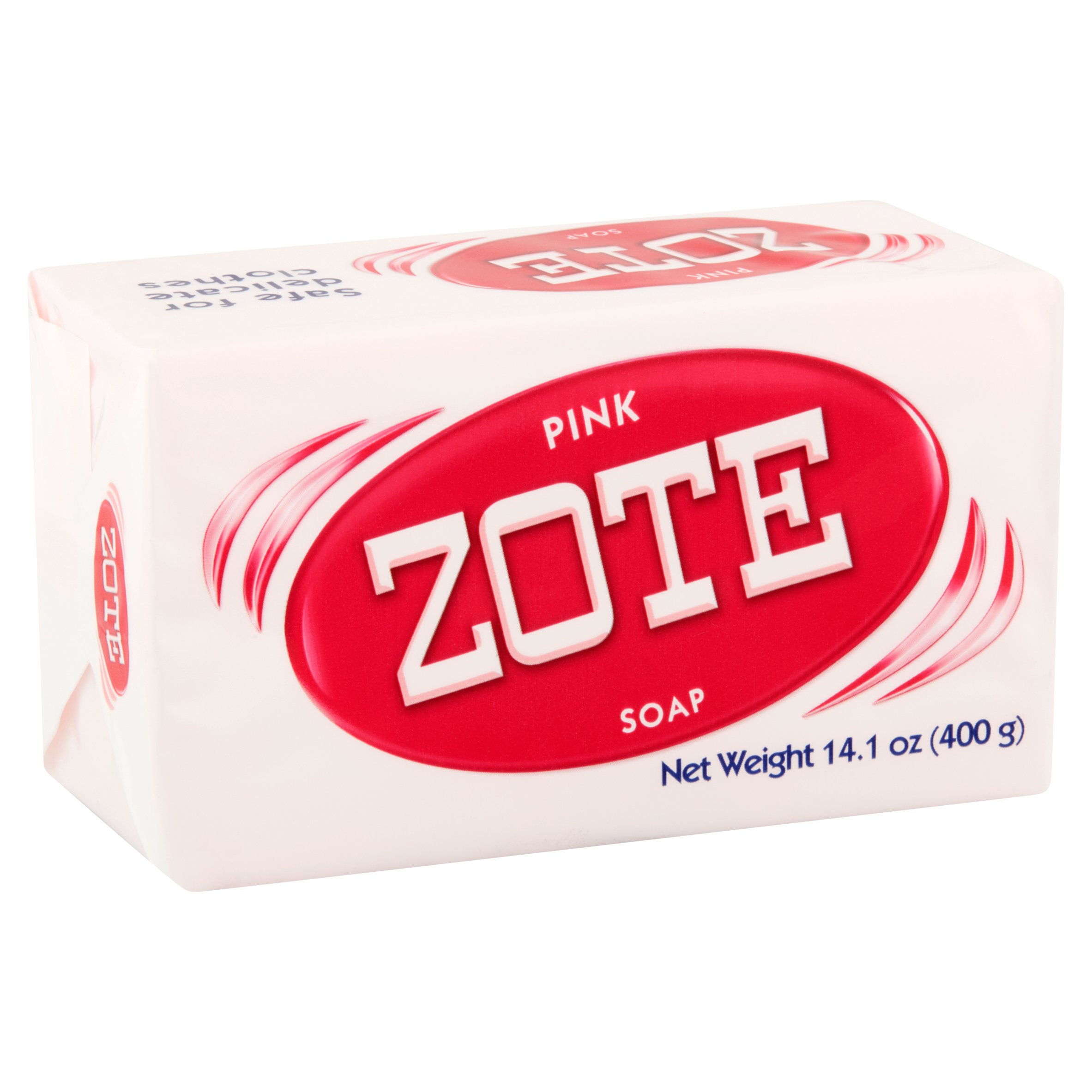 Zote Laundry Bar Soap Pink 141oz Sabun Rose Red