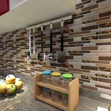 Magnificent Art3D 12 X 12 Peel And Stick Tiles For Kitchen Backsplash Self Adhesive Wall Tile 3D Wall Sticker Home Interior And Landscaping Oversignezvosmurscom
