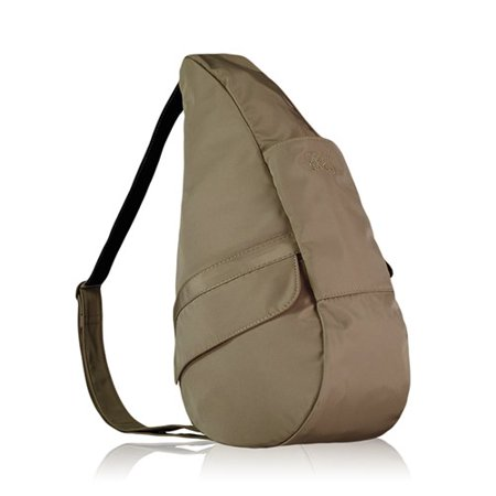 Small Microfiber Healthy Back Bag - Taupe Small Microfiber Healthy Back Bag