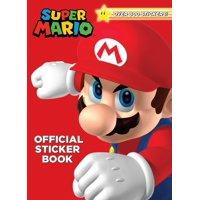 Super Mario Official Sticker Book (Nintendo) (Paperback)