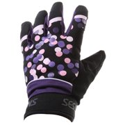 Sessions Dottie Pipe Gloves Purple Womens