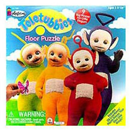 Colorforms Teletubbies Floor Puzzle, 9 Pieces