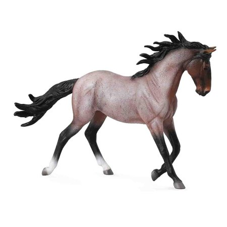 Breyer CollectA Sereis Bay Roan Mustang Mare Model Horse