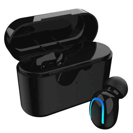 Stereo Wireless Bluetooth Earbud. Sweatproof Headset . Built-in Mic for Android and iPhone Smart Phones.(with Charging Case) - image 17 of 17
