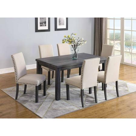 Best Master Furniture Helena 7 Pcs Dining Set
