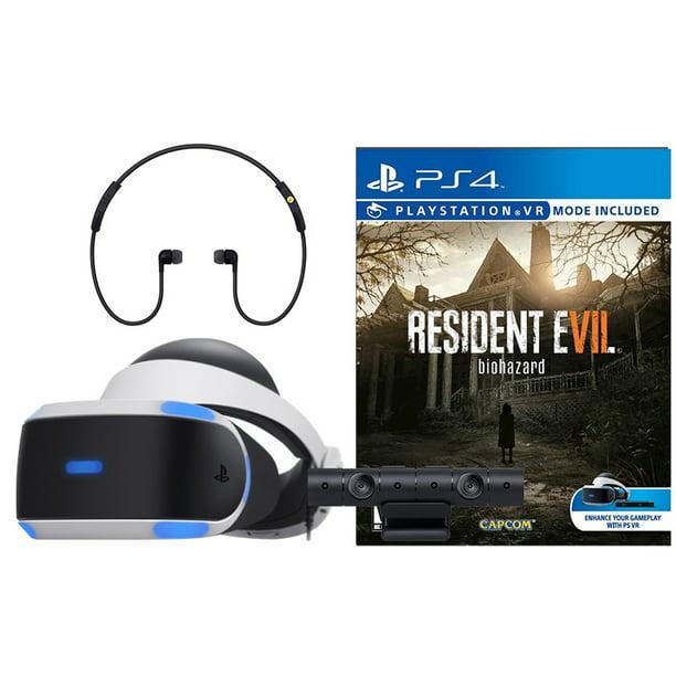 Sony Playstation Vr Resident Evil 7 Biohazard Bundle Walmart Com