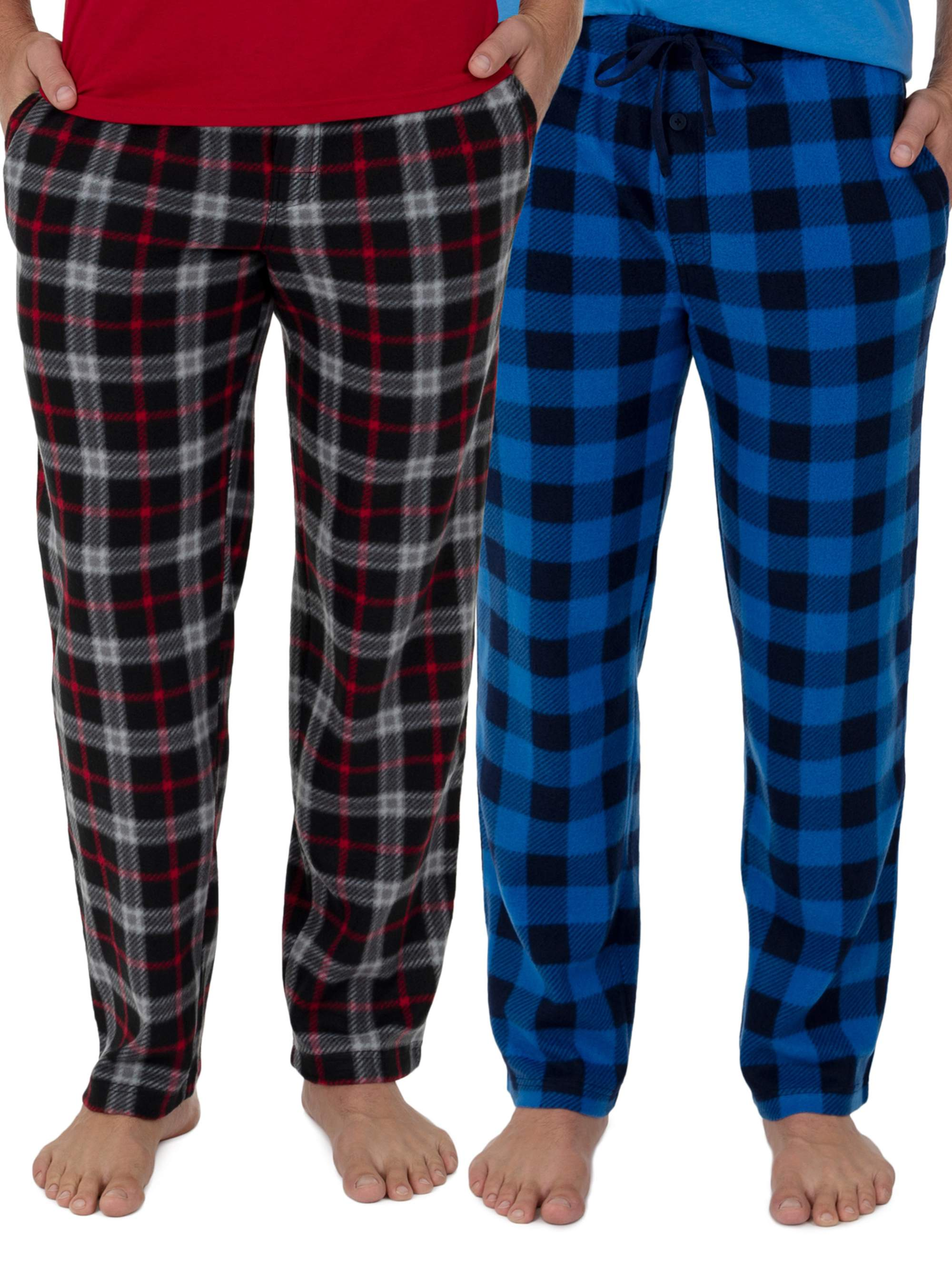 Mens Haigman 7090 Poly Cotton 2 Pack Pyjama Bottoms
