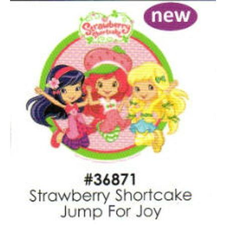 Strawberry Shortcake Jump for Joy Cake Decoration Edible Frosting Photo Sheet for $<!---->