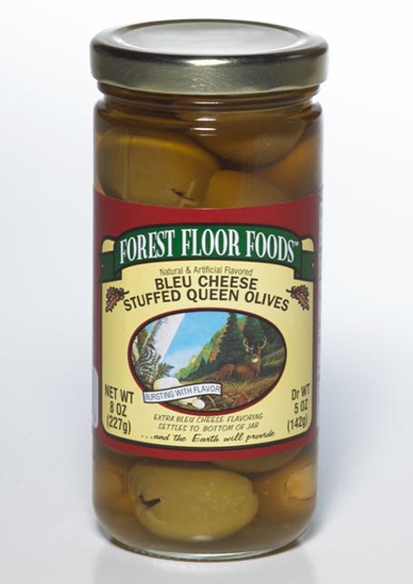 Blue Cheese Stuffed Queen Olive by Forest Floor Foods