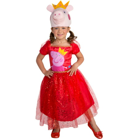 Peppa Pig Tutu Dress Peppa Toddler Costume (Toddler Tutu Costume)