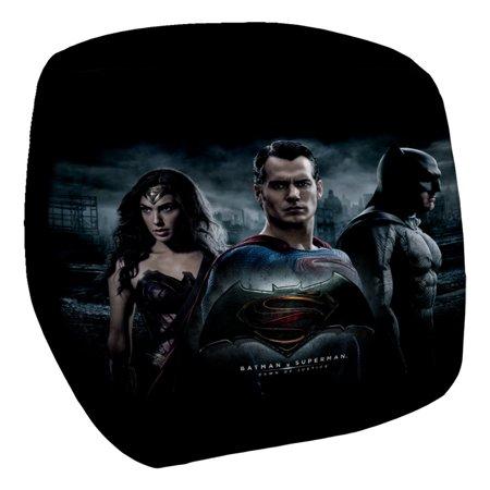 Batman V Superman Justice Colleagues Bean Bag Chair White 33X33X31