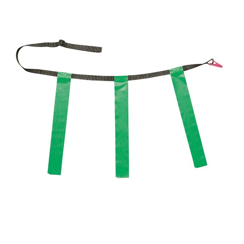 Champion Sports Triple Flag Football Belts Green Youth Set of 12 by Champion Sports