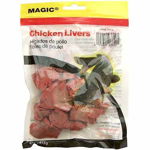 Magic Products Preserved Chicken Livers, Red/Blood Anise