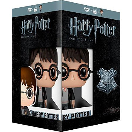 Harry Potter Collection - 8-DVD Box Set & Harry Potter FUNKO Figurine ( Harry Potter and the Sorcerer's Stone / Harry Potter and the Chamber of Secrets / [ NON-USA FORMAT, PAL, Reg.2 Import - (The Rolling Stones Singles Box Set 1971)