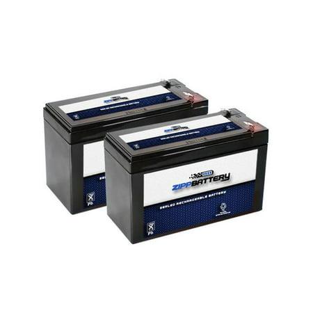 12V 7AH Sealed Lead Acid (SLA) Battery for ES7-12 (2 Pack) ()