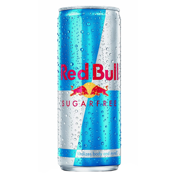 Red Bull Sugar Free Energy Drink 12 oz Cans - Pack of 24