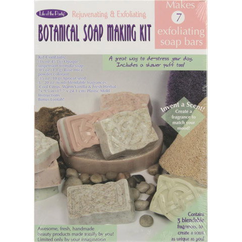 Botanical Soap Making Kit - Makes 7