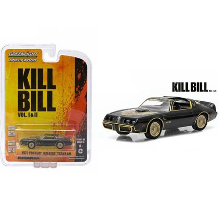 1979 PONTIAC FIREBIRD TRANS AM from the classic film KILL BILL Collectibles 1:64 Scale * GL Hollywood Series 10 * Die Cast Vehicle, 1979 PONTIAC.., By