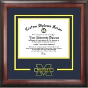 University of Michigan Spirit Diploma Frame