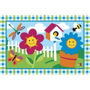 Fun Rugs Happy Flowers Kids' Rug