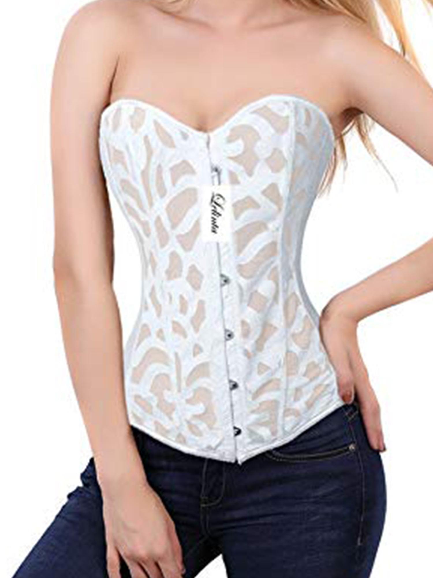 open cup corset size 36 boned