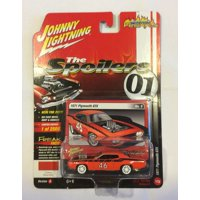 Johnny Lightning 1:64 Scale Red 1971 Plymouth GTX Diecast Car