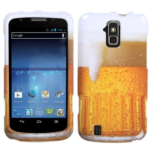 Insten Beer - Food Fight Collection Phone Protector Case Cover For ZTE N9100 Force