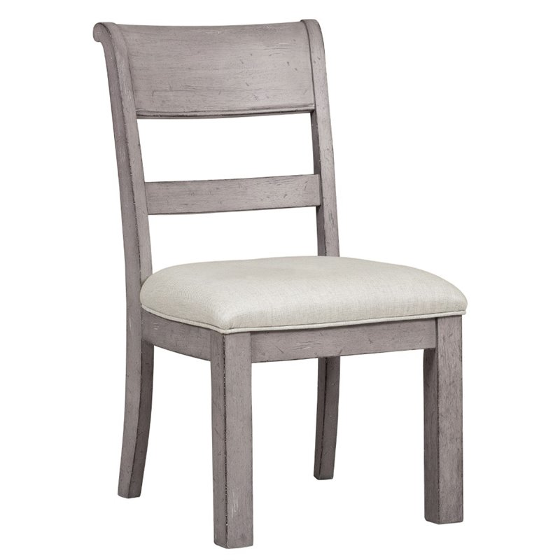 Bowery Hill Dining Side Chair in Gray