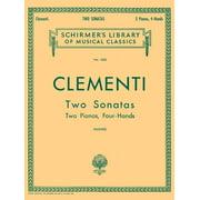 2 Sonatas (Muzio Clementi) Piano Duet