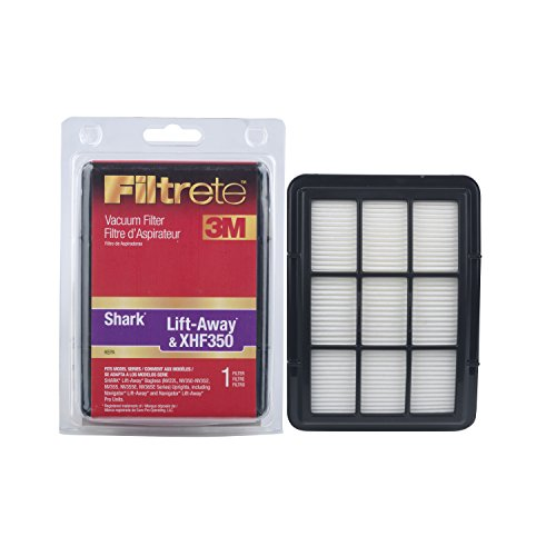 3M Shark Lift-Away and XHF350 HEPA Vacuum Filter by Filtrete
