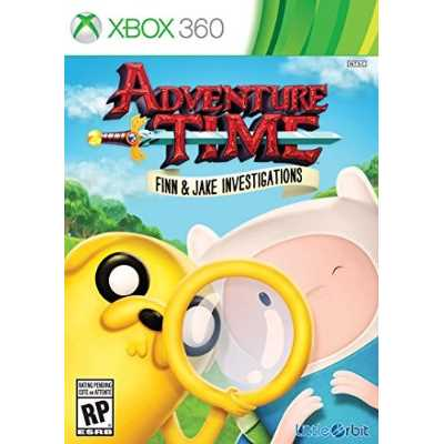 Refurbished Adventure Time Finn and Jake Investigations - Xbox 360